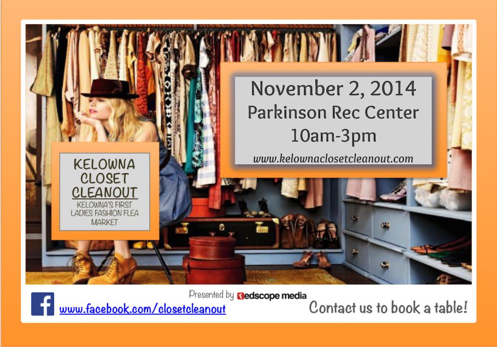 Kelowna Closet Cleanout Nov 2, 2014